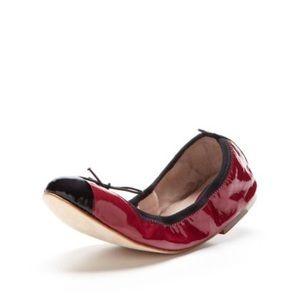 Bloch raspberry ballet flats size 10.5
